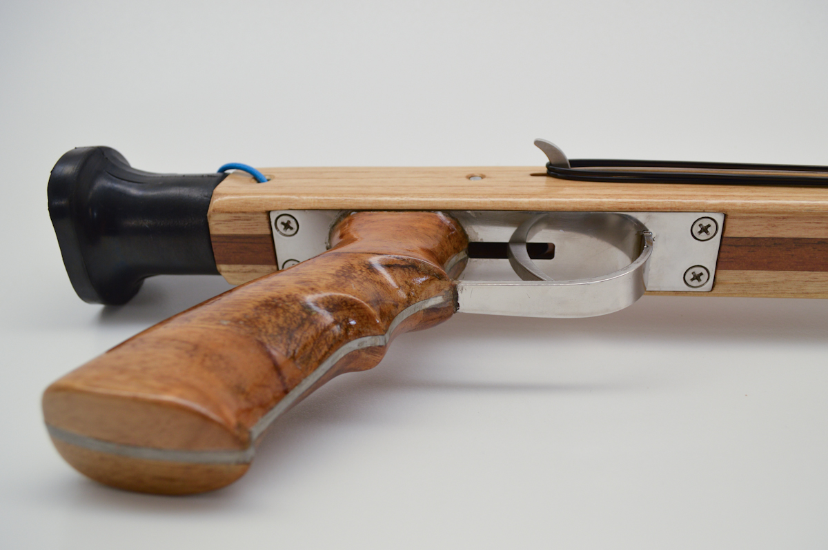 Andre Spearguns 120 Ironwood Rear Handle