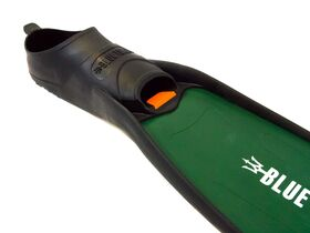 Hydro™ Green Fins With Orange Clips