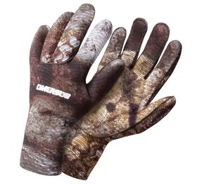 OMER 2MM CAMO 3D GLOVES (S, M, L, XL)