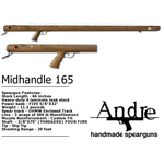 ANDRE SPEARGUNS 165 MIDHANDLE ET