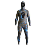 ROB ALLEN 8OZ DUAL CAMO LYCRA RASHGUARD UV STINGER (TOP & BOTTOM)