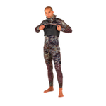 YAZBECK 7.5MM HAMOUR OPEN/SPLIT CELL WETSUIT (TOP & FARMER JOHN BOTTOM)