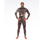 YAZBECK 1.5MM HAMOUR OPEN/SPLIT CELL WETSUIT (TOP & FARMER JOHN BOTTOM)