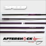 "AFTERSHOCK SPEED HYBRID 1/2"" TRAVEL POLESPEAR *** PURPLE COLOR ***"