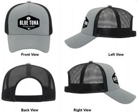 blue tuna spearfishing hat